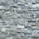 Grey Cultural Stone Cladding Exterior Wall Tile, Thickness: 10-15 Mm