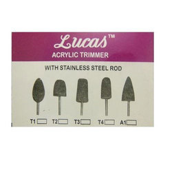 Lucas Acrylic Trimmer for Dental, Packaging Type: 50 Piece in a Box