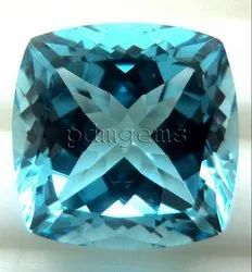 Sky Blue Topaz Faceted Gemstone