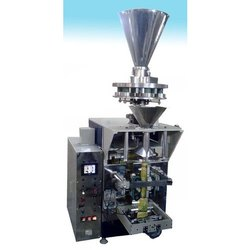 Collar Type FFS Machine For Free Flowing Powders