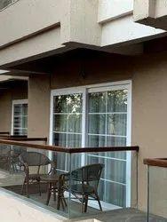 Rectangular UPVC Sliding Door, for Residential