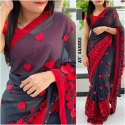Ladies Designer Georgette Saree