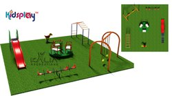 Platinum KidsPlay Playground Equipment KP-KR-P102
