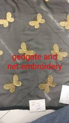 Georgette And Net Fabric