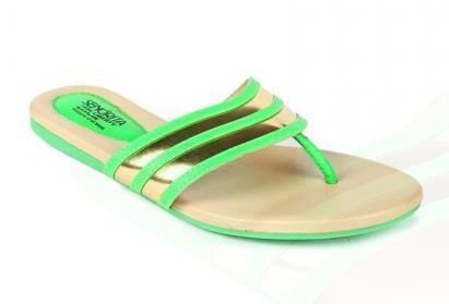927c0c58cb270a Fashion Shoes - Senorita Womens Green Thong La 0948 Retailer from ...