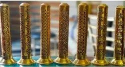 Gold Plated Agarbatti Stand for Gifts