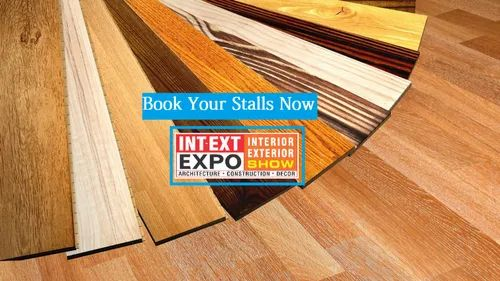 White Anti-skid Flooring & Tiles INT-EXT Expo 2019
