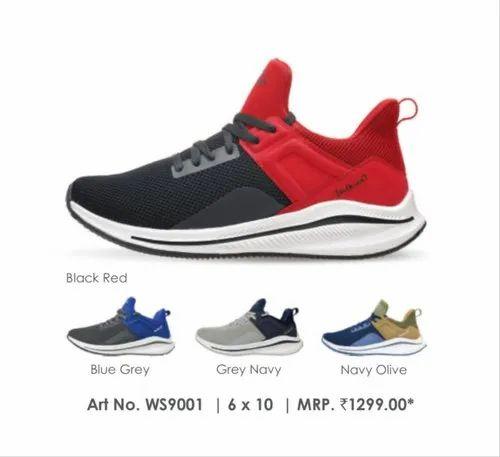 Men Walkaroo 9001 Running Shoes, Size