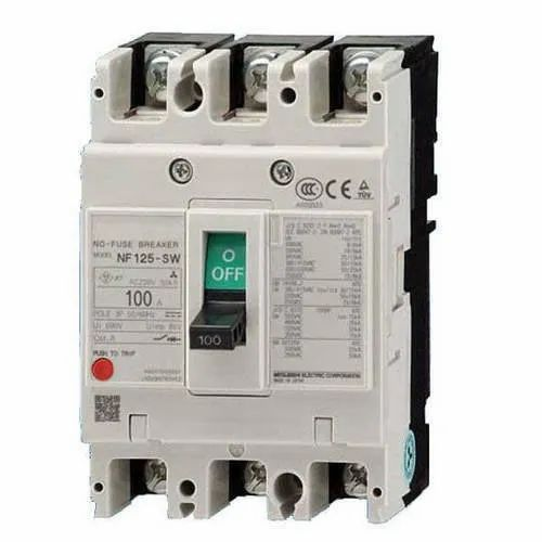 Molded Case Circuit Breakers, Model Name/Number: Nf-125-sw