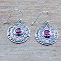 Corundum Ruby Gemstone 925 Sterling Silver Jewelry New Earring We-5482