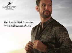 Scot Wilson Pure Silk Satin - Printed Silk
