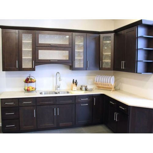 Simple Kitchen Design Hpd453: L Shape Kitchen Cabinet