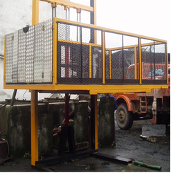 Cantilevered Freight Lift