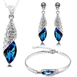 Blue Imported Jewelry