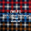 Cotton Discharge Print (Wi Fi)