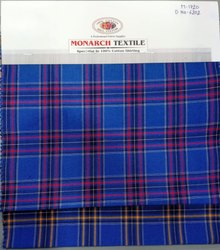 Cotton Fabric Exclusive Designs Kids Checks Shirting Fabrics, 58-60