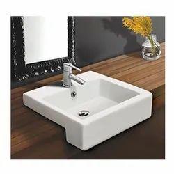 Tita Ceramic Pinakin Art Basin, For Bathroom