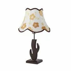 T4 Wooden Bedside Table Lamp