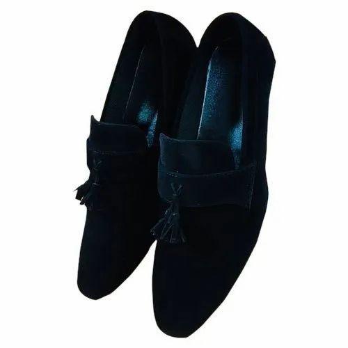 Black Mens Designer Party Wear Loafer
