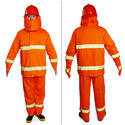Free Size Polyester Fire Safety Suit