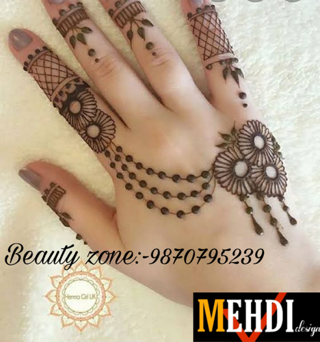 mehndi design indo arabic