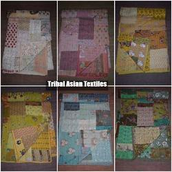 Handmade Patchwork Bed Cover Quilt