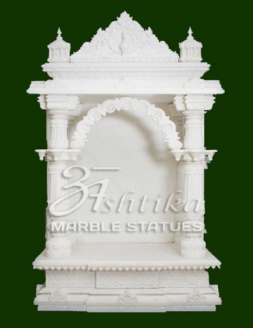 Marble Mandir For Home At Rs 35000 Piece White Marble Temple Id