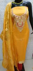 Aaditri Banarasi Gota Patti Work Suit