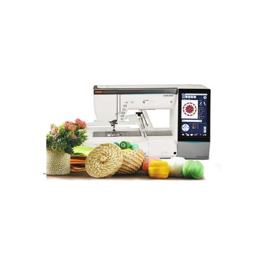 Electric Automatic Usha Memory Craft 15000 Embroidery Sewing Machine