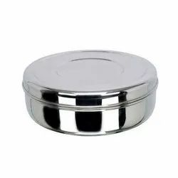 Stainless Steel SS Round Lunch Box