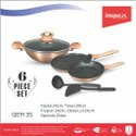 Nonstick Forged 3 Pc Cookware Set (GEM 3S)