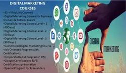1-20 40 Days - 180 Days Digital Marketing Courses