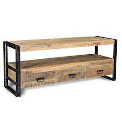 Modern Wooden Bookshelves And Drawers, For Home, Size: 120x40x50cm (lxbxh)
