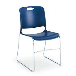 polypropylene blue training chair