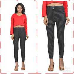 Ladies Striped Pants