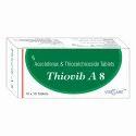 Aceclofenac 100mg Thiocolchicoside 8mg