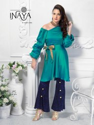 Studio Libas Inaya Stylish Party Wear Silk Tunic