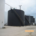 Ss And Ms Black & Blue Bulk Chemical Storage Tank
