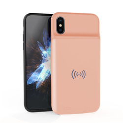 ROQ Ultra Thin Wireless Battery Case 3600mAh For iPhone X
