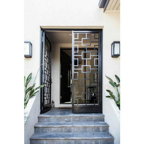 Iron Safety Door आयरन डोर लोहे का दरवाजा Sai Steel