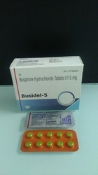 Buspirone Hydrochloride Tablets IP 5 mg