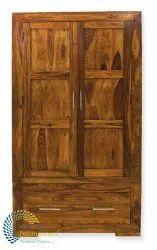 Cube Wooden 2 Door Wardrobe