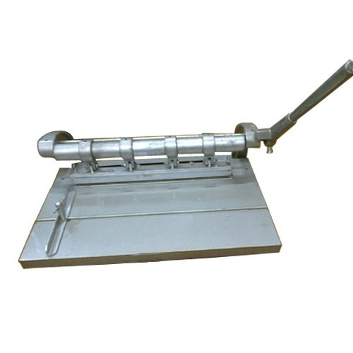 Stainless Steel Manual Spiral Binding Machine, Rs 4500