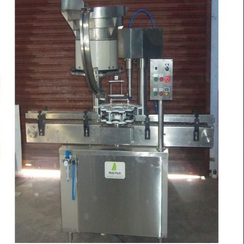 Medipack Lug Cap Sealing Machine, Model: MPASCM-50