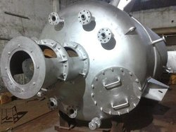 Stainless Steel Industrial Reactors, Material Grade: Ss, Capacity: >3 KL