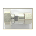 Din Male Stainless Steel Cable RF Connector
