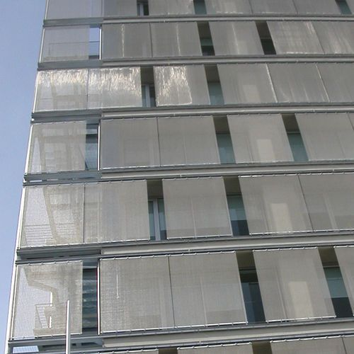 Exterior Duct Cladding : Duct cladding building elevation services in uppalwadi