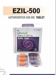 Ezil-500 mg Azithromycin  Tablets