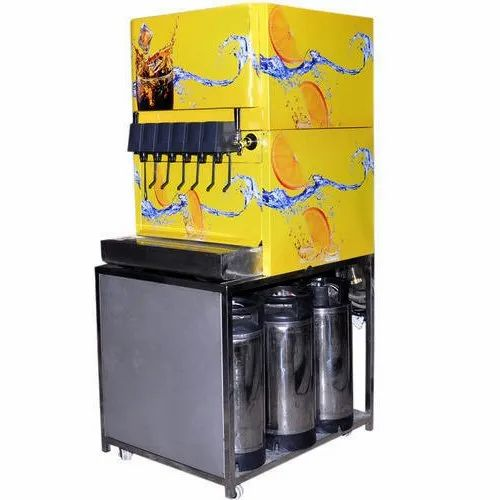 Sodawala Stainless Steel Automatic Soda Maker Machine, Number Of ...