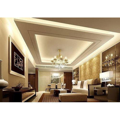 False Ceiling Interior Decoration Service in Makbulganj Lucknow